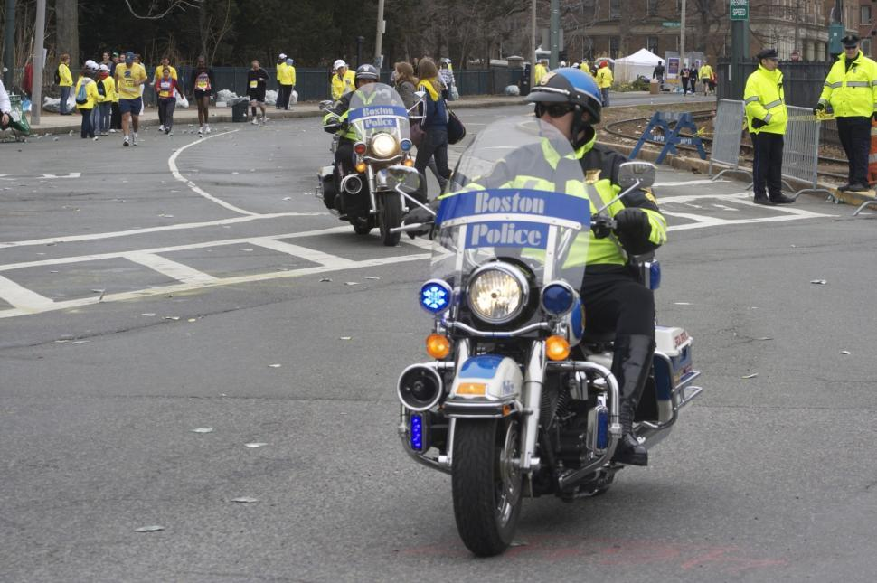 Download Free Stock HD Photo of Boston Police Online