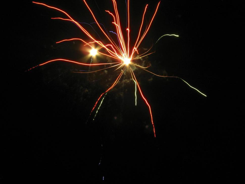 Download Free Stock HD Photo of small firework Online
