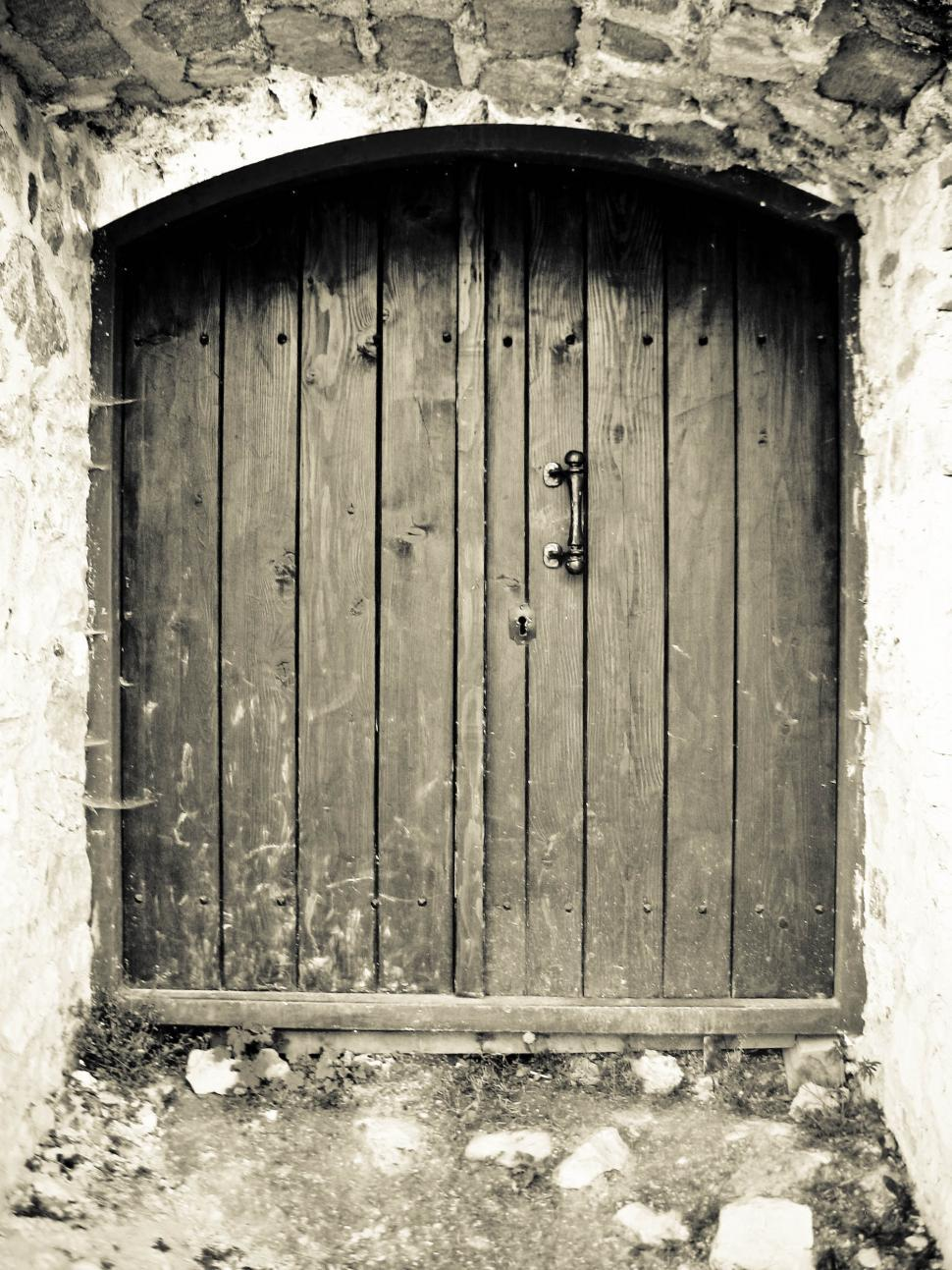 Download Free Stock HD Photo of Old wooden door Online
