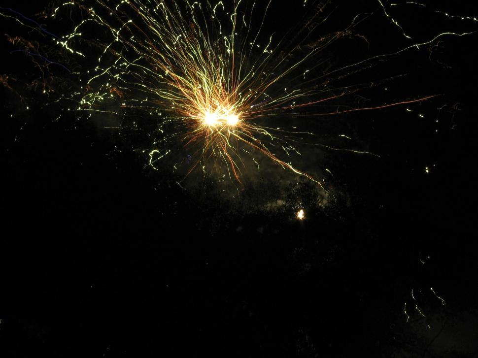 Download Free Stock HD Photo of Sparking fireworks Online