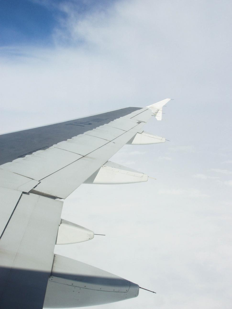 Download Free Stock HD Photo of Airplane Wing Online
