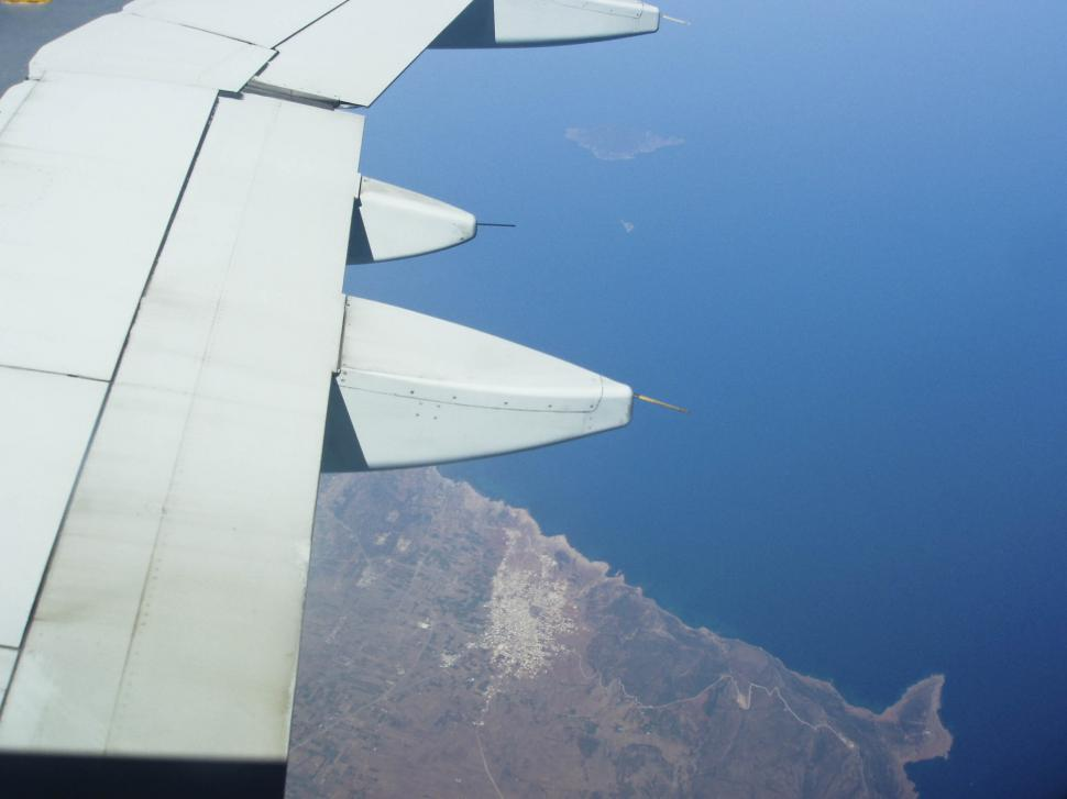 Download Free Stock HD Photo of Airplane WIng view Online