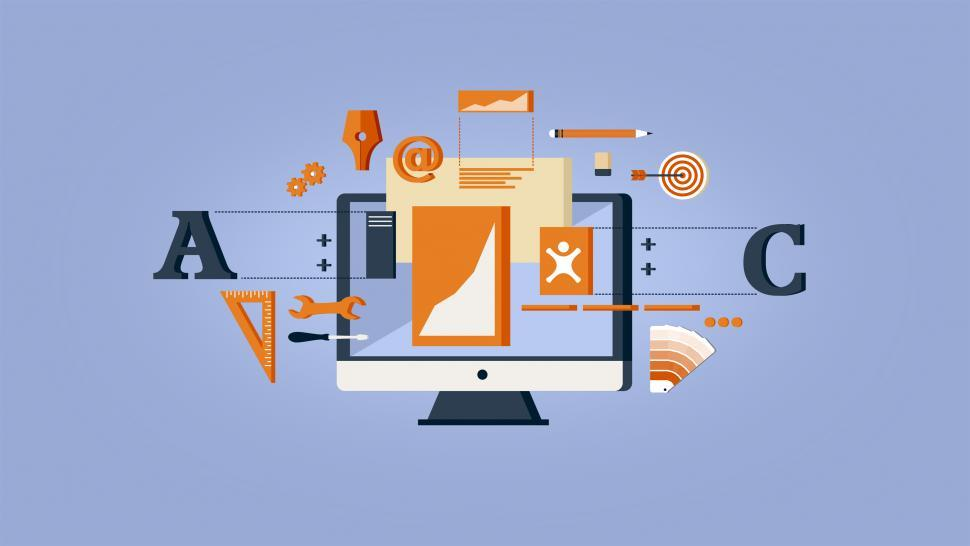 Download Free Stock HD Photo of Web Design and Development - Website Layout Online