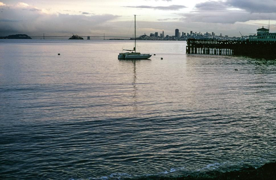Free image of View of San Francisco Bay