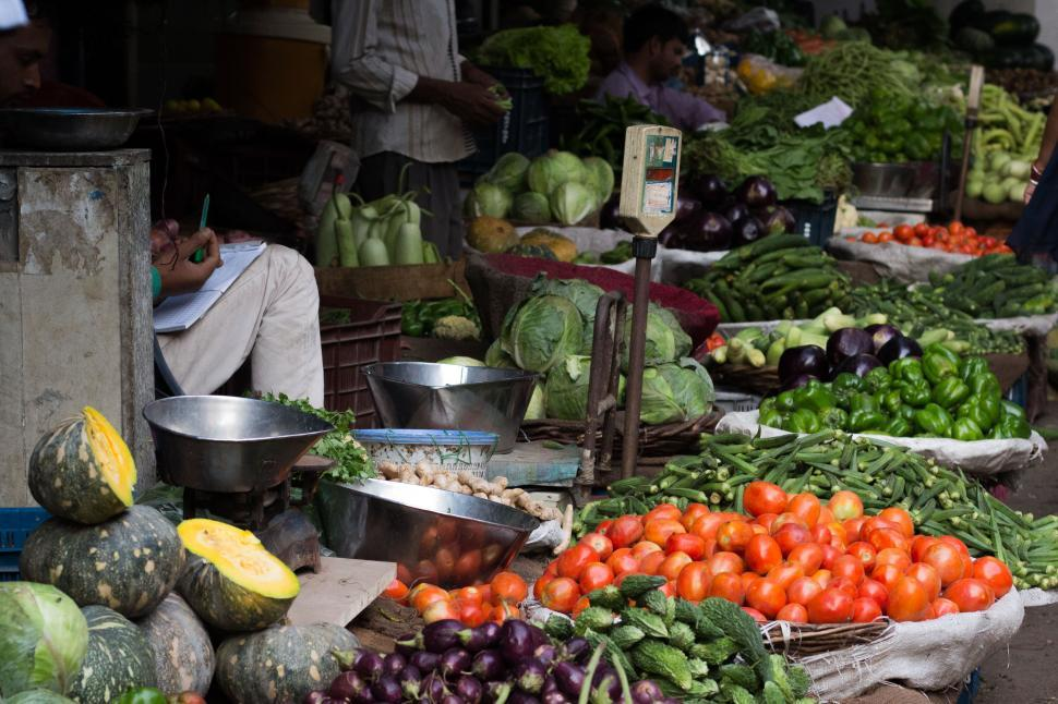 Download Free Stock HD Photo of Vegetable Market Produce Online