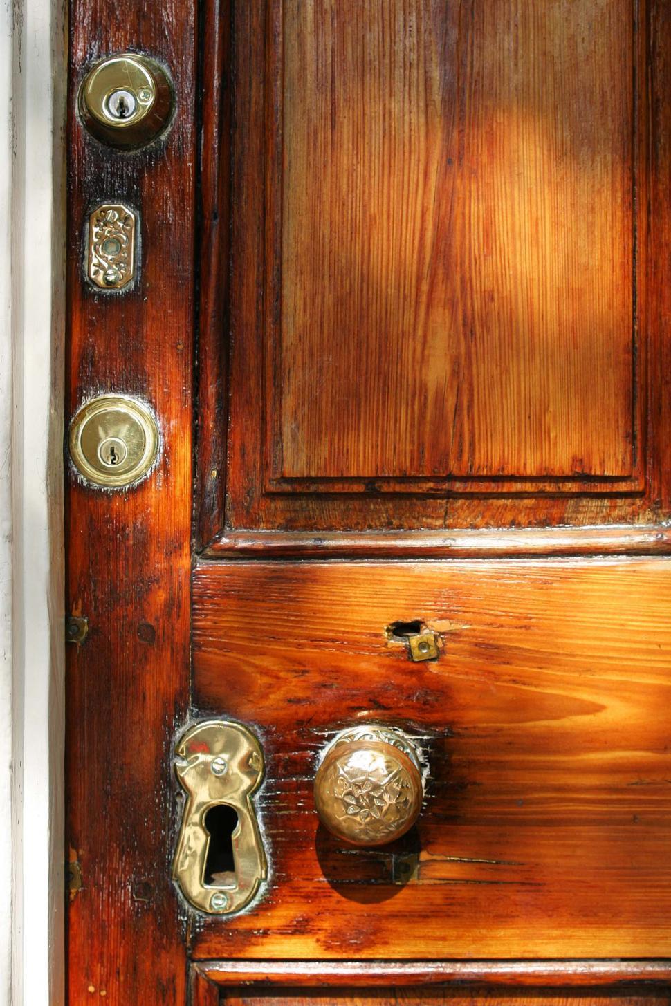 Download Free Stock HD Photo of door and old doorknob Online