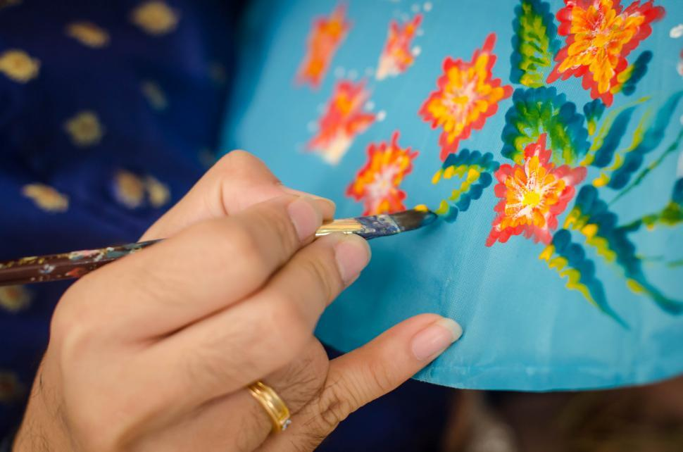 Download Free Stock HD Photo of Umbrella Pattern Painting  Online