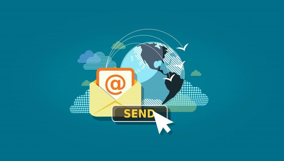 Download Free Stock HD Photo of Sending E-Mail - Electronic Mail Communication  Online