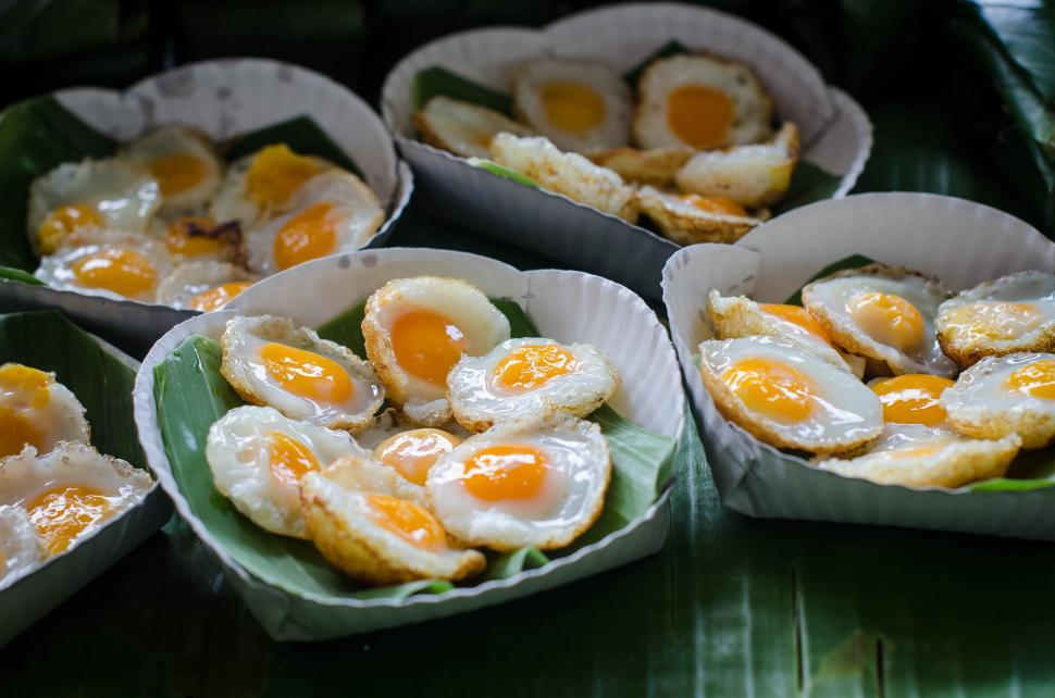Download Free Stock HD Photo of Thai food - Eggs Online