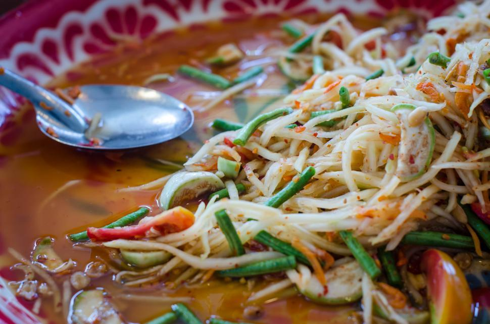 Download Free Stock HD Photo of Fresh Spicy Thai Food  Online