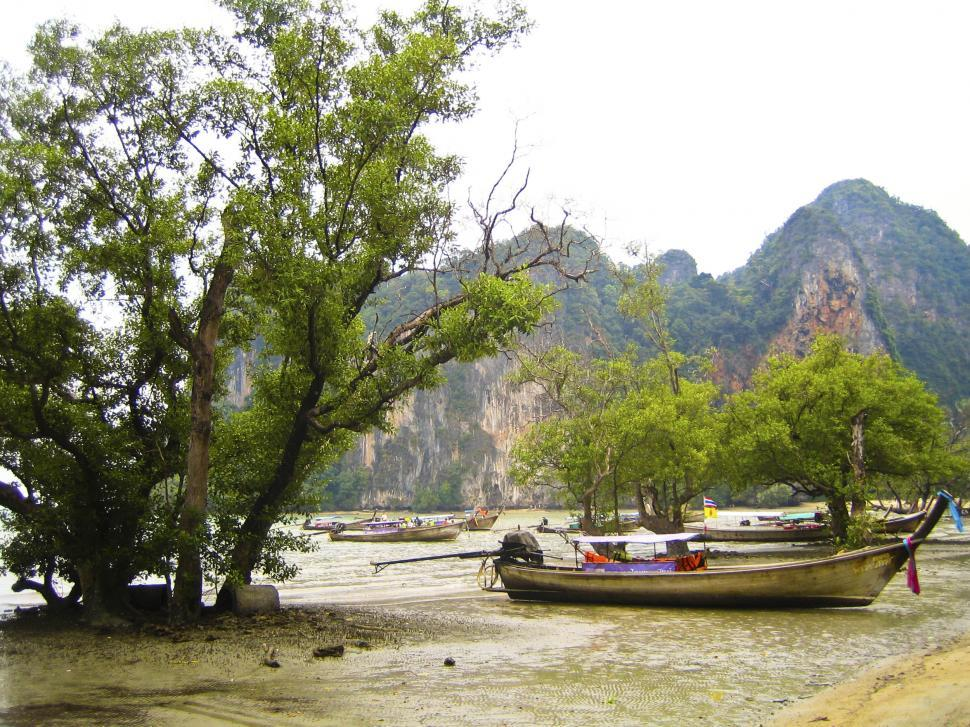 Download Free Stock HD Photo of Boat in Thailand Online