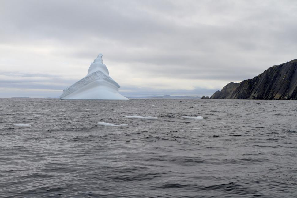 Download Free Stock HD Photo of Iceberg in summer Online