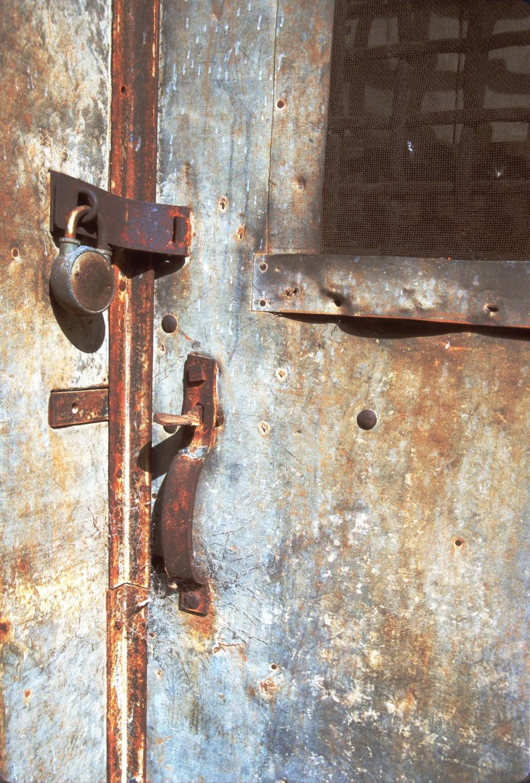 Download Free Stock HD Photo of Old metal door hardware Online