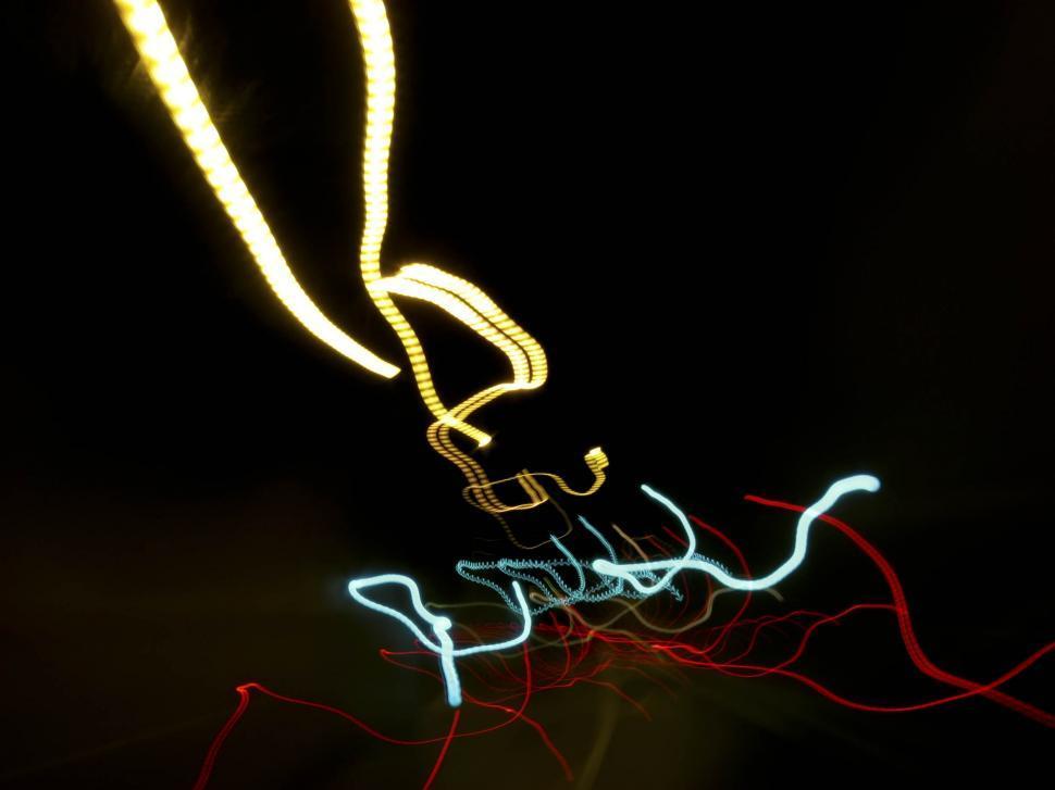 Download Free Stock HD Photo of Crazy light streaks Online