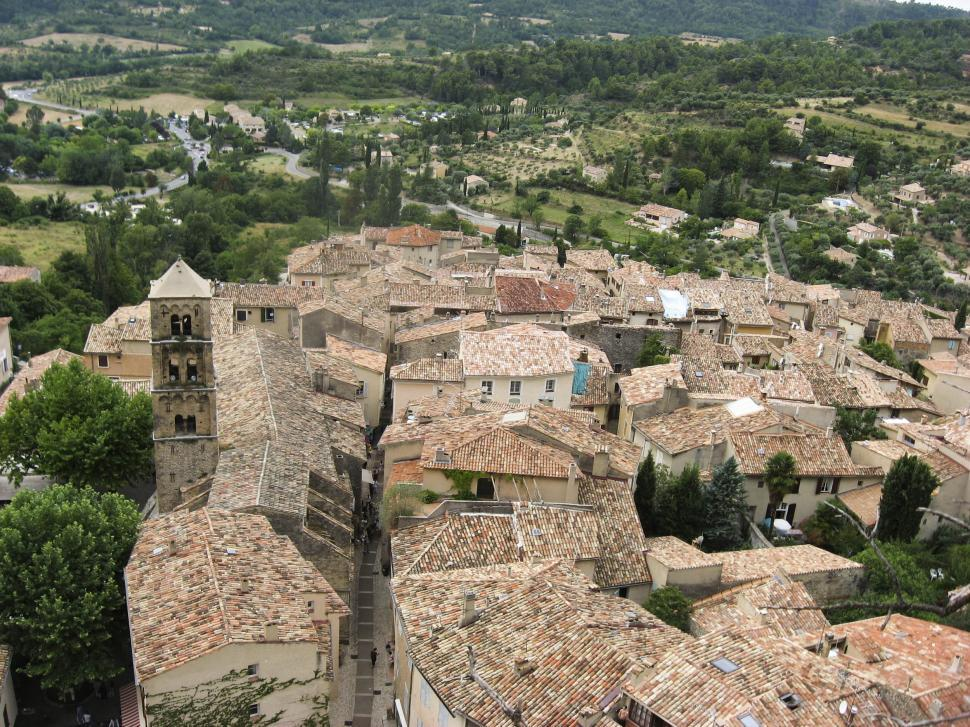 Download Free Stock HD Photo of french village Online
