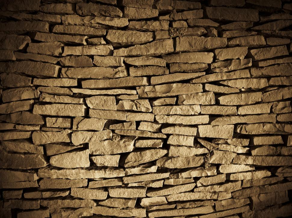 Download Free Stock HD Photo of Stacked stone wall Online