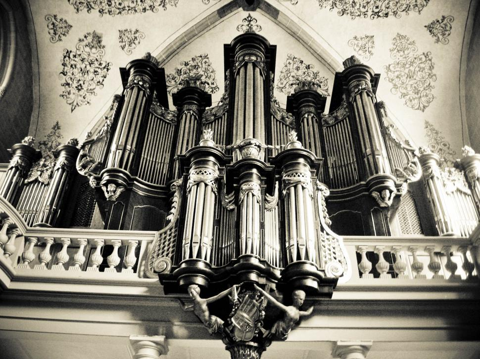 Download Free Stock HD Photo of church organ Online