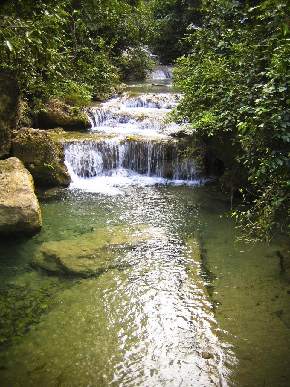 Download Free Stock HD Photo of Waterfalls on creek Online