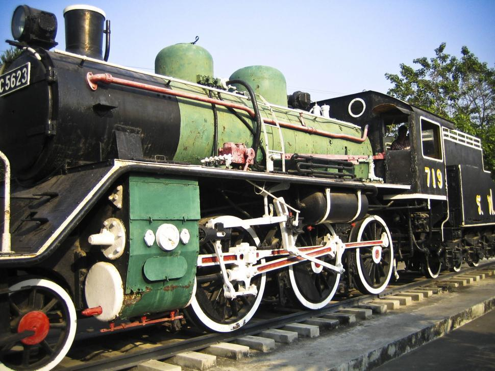 Download Free Stock HD Photo of old locomotive Online