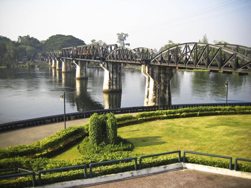 Download Free Stock HD Photo of river kwai bridge Online