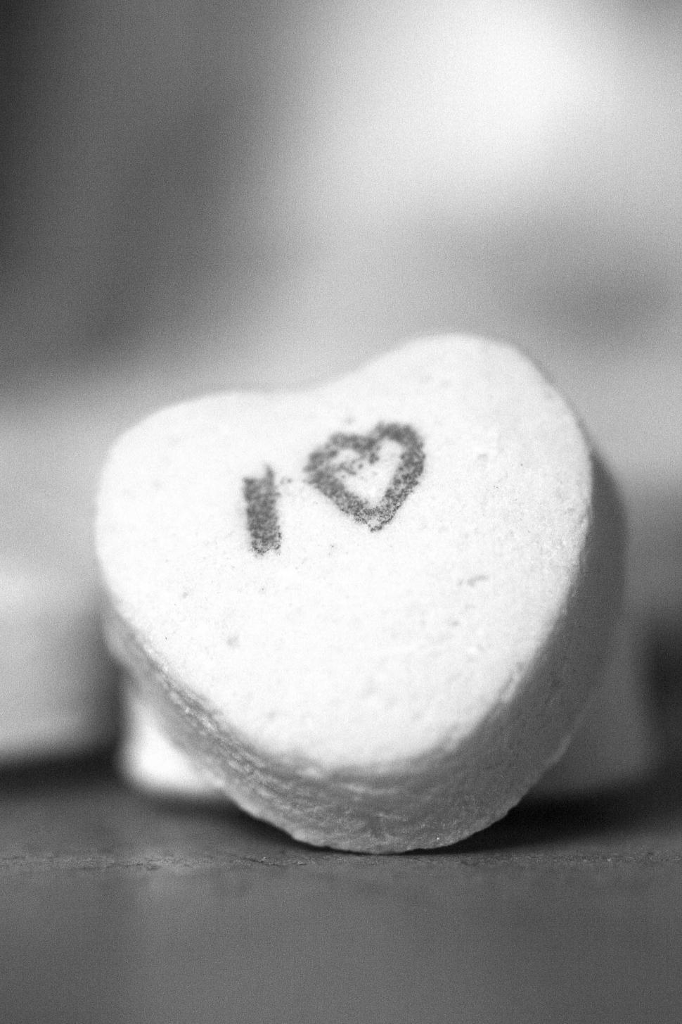 Download Free Stock HD Photo of Black and white heart Online