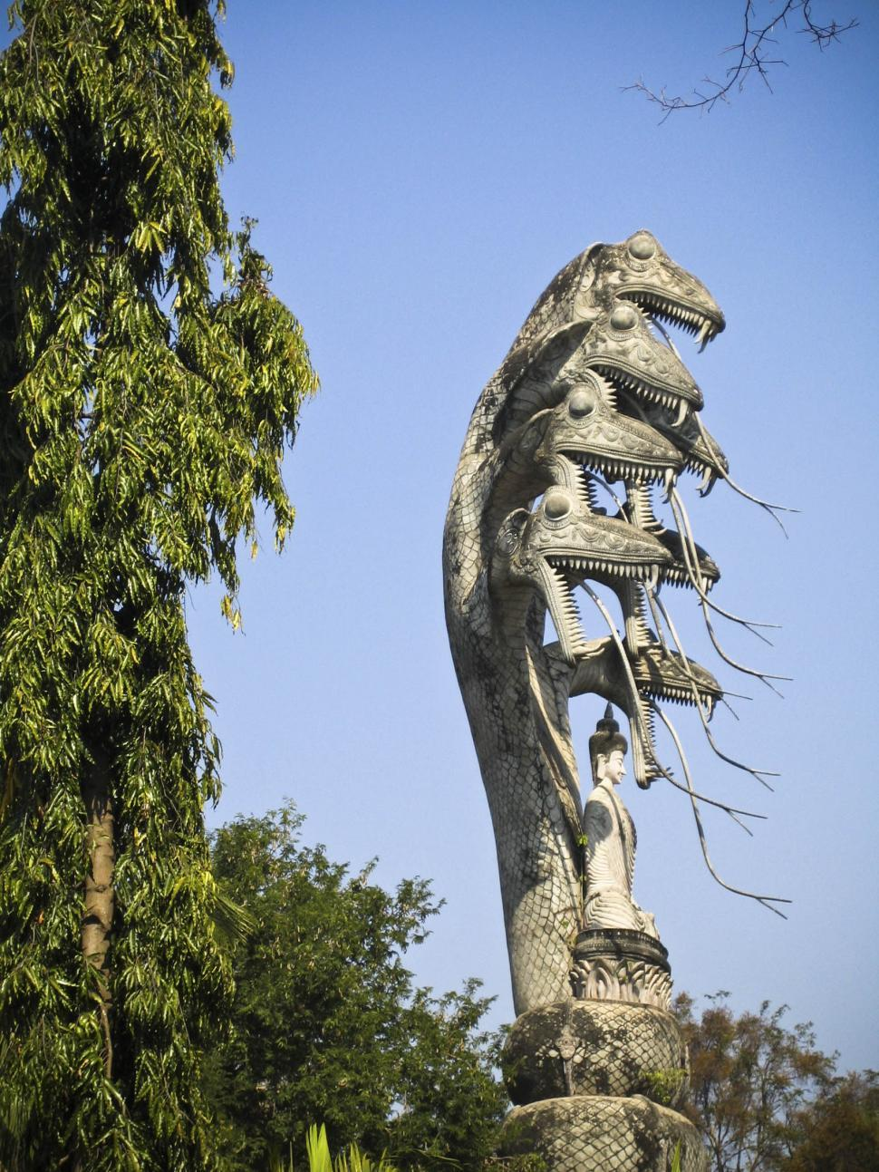 Download Free Stock HD Photo of Sculpture Monument in Thailand Online