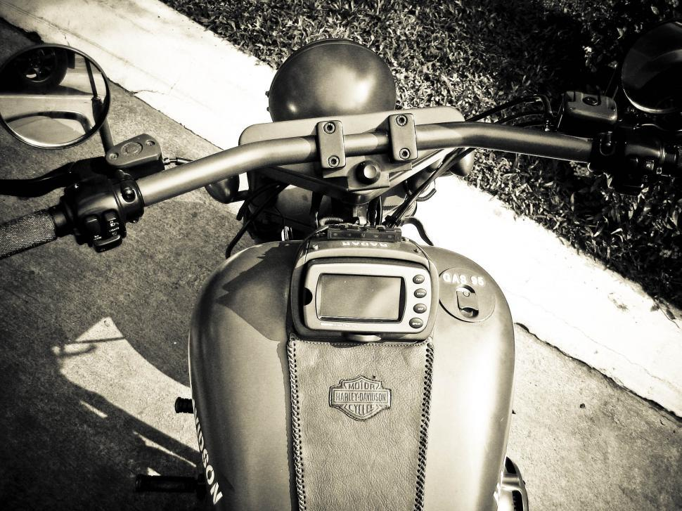Download Free Stock HD Photo of harley davidson gas tank Online