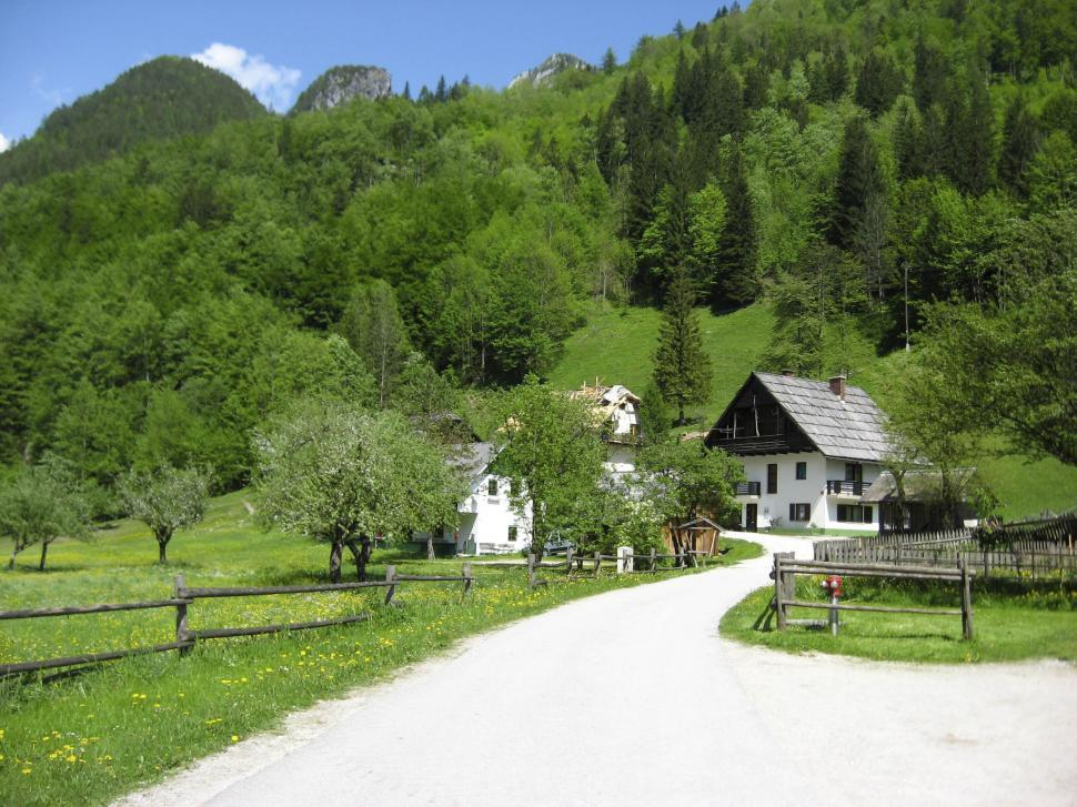 Download Free Stock HD Photo of alpine village Online