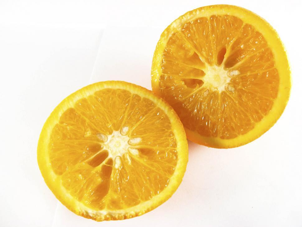 Download Free Stock HD Photo of sliced orange Online