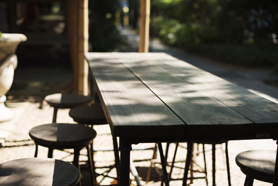 Download Free Stock HD Photo of Furniture at the Cafe Online