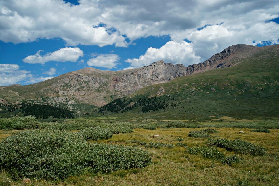 Download Free Stock HD Photo of Guanella Pass Ridges  Online