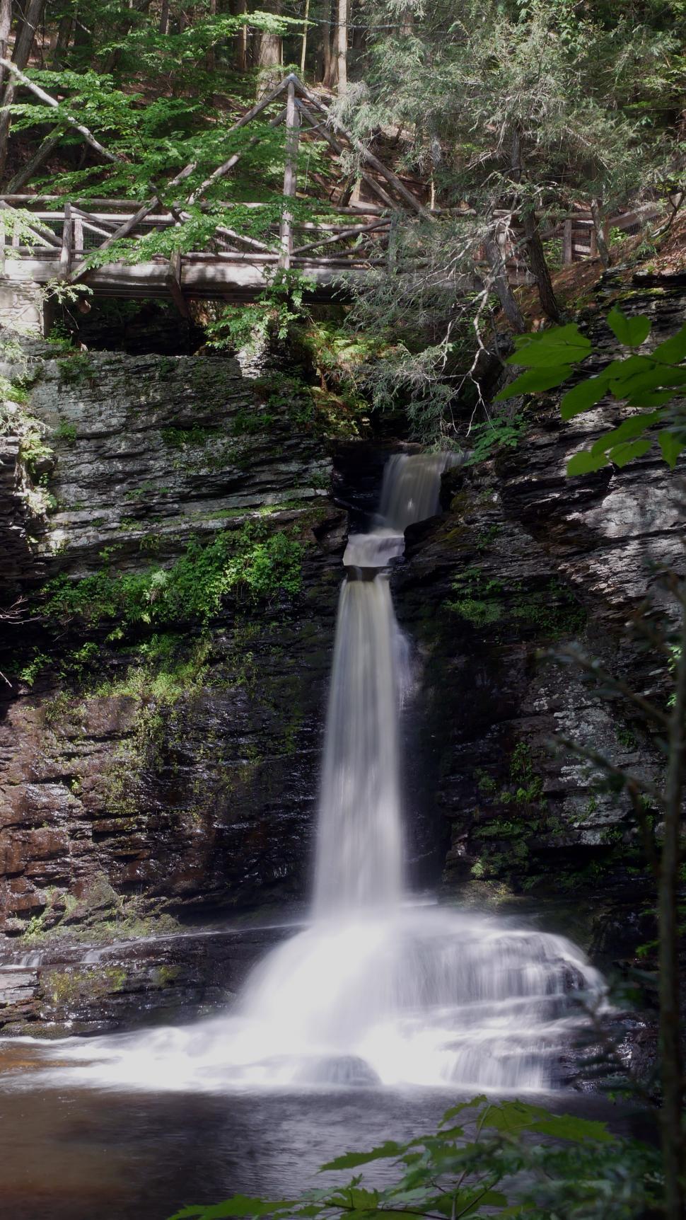 Download Free Stock HD Photo of Deer Leap Falls Online