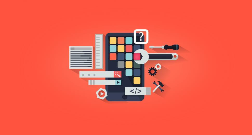 Download Free Stock HD Photo of App Development - App Design  Online
