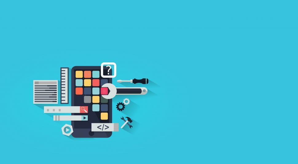 Download Free Stock HD Photo of App Development - App Design - With Copyspace Online