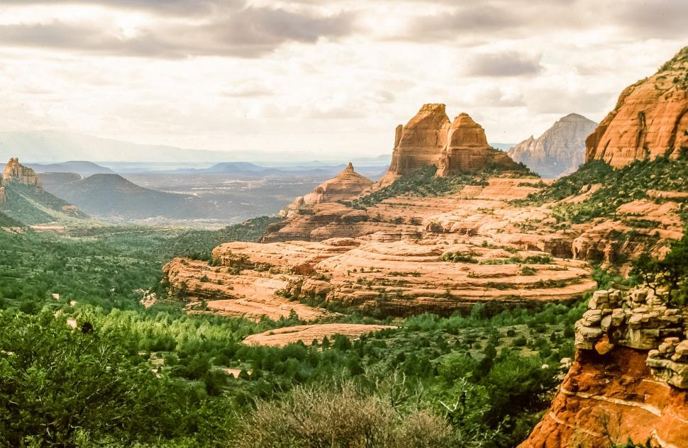 Download Free Stock HD Photo of Cathedral Rock Online