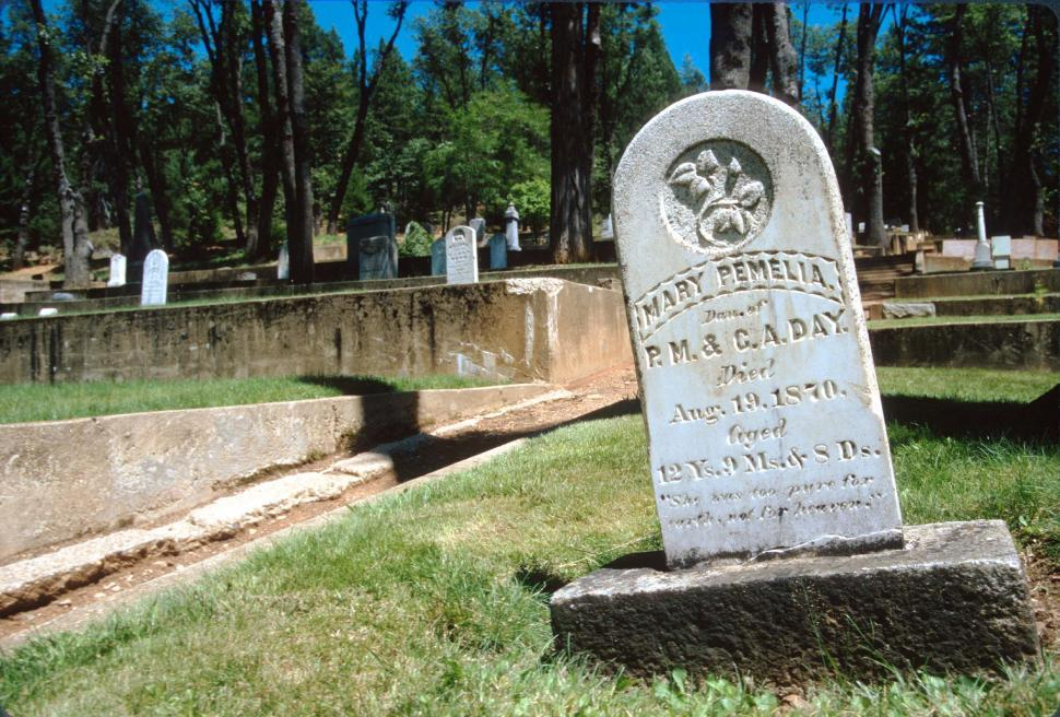 Download Free Stock HD Photo of Grave marker Online