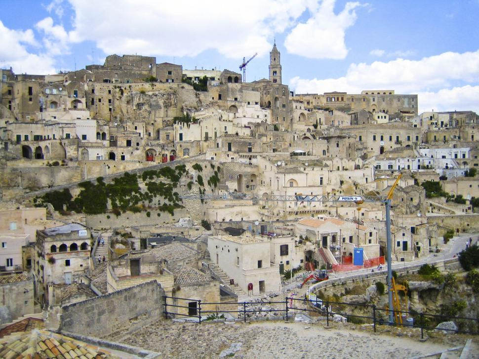 Download Free Stock HD Photo of Sicilian Village Architecture Online