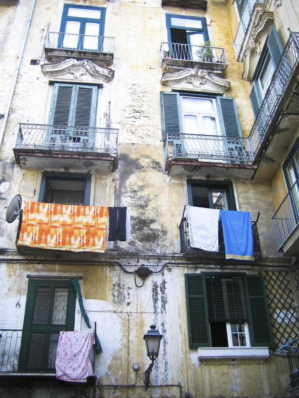 Download Free Stock HD Photo of Building in Salerno Online