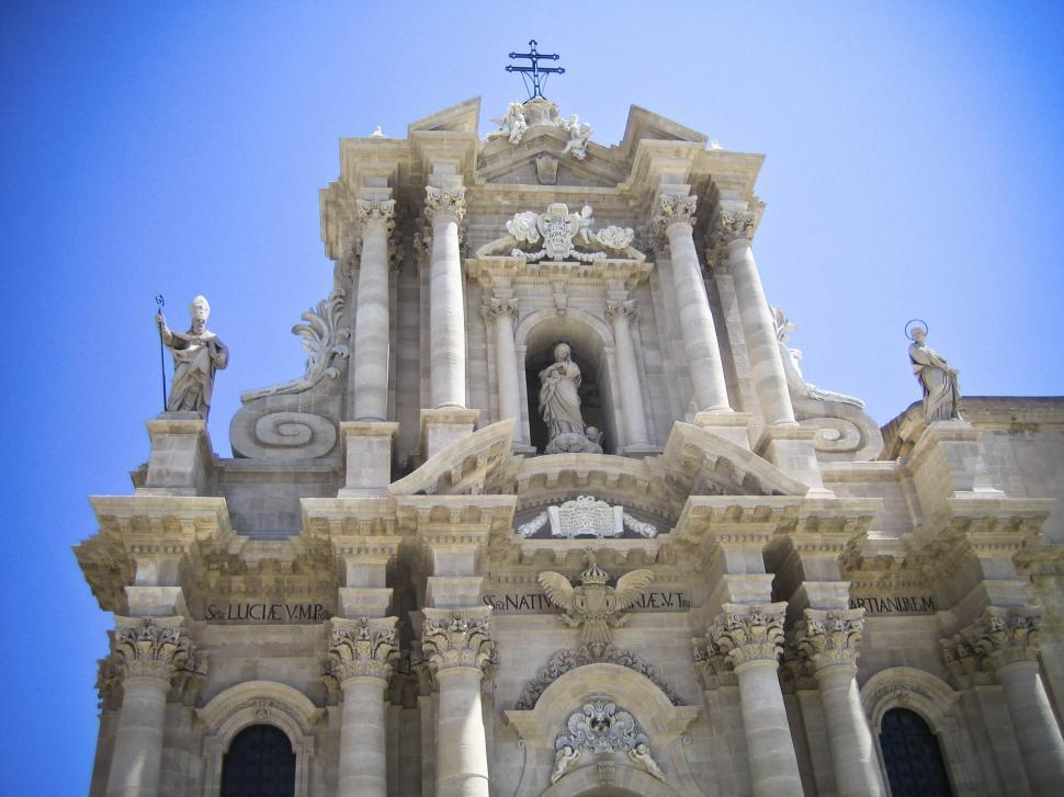 Download Free Stock HD Photo of Duomo facade Online