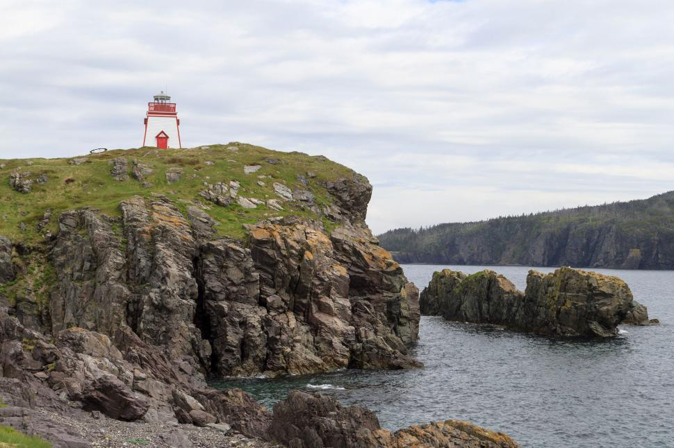 Download Free Stock HD Photo of Atlantic Canada lighthouse Online