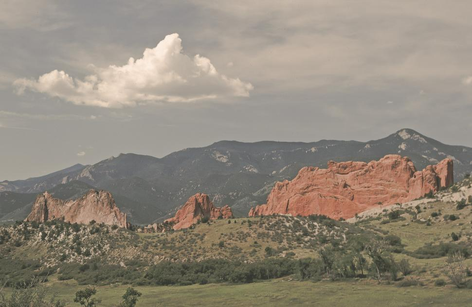 Download Free Stock HD Photo of Red rock landscape Online