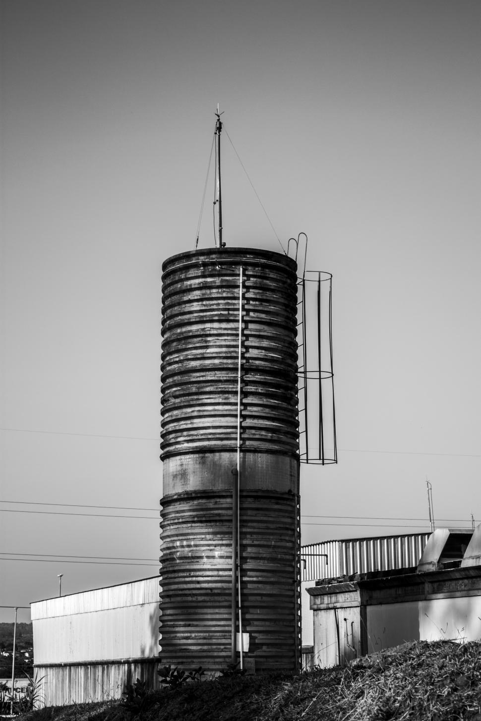 Download Free Stock HD Photo of Old Concrete Water Tower Online