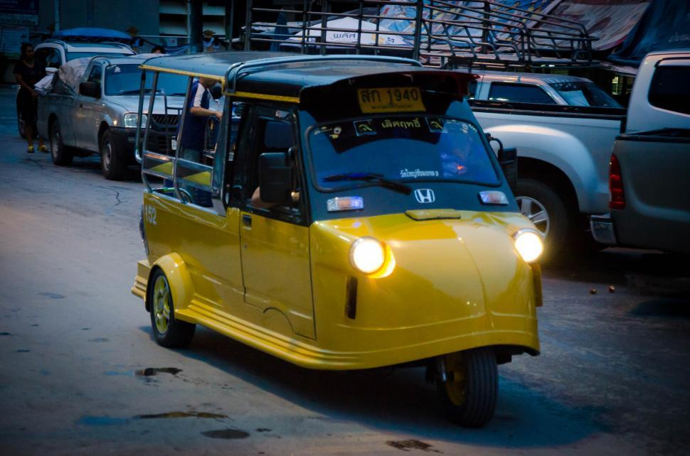 Download Free Stock HD Photo of Local Taxi  Online