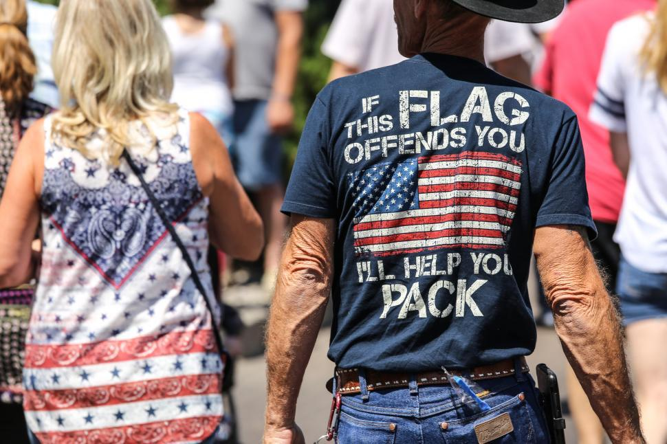 Download Free Stock HD Photo of Pro America shirt Online