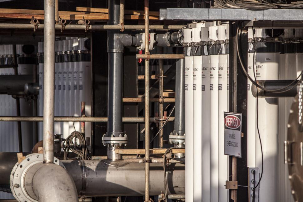 Download Free Stock HD Photo of Water Treatment Plant Filters Online