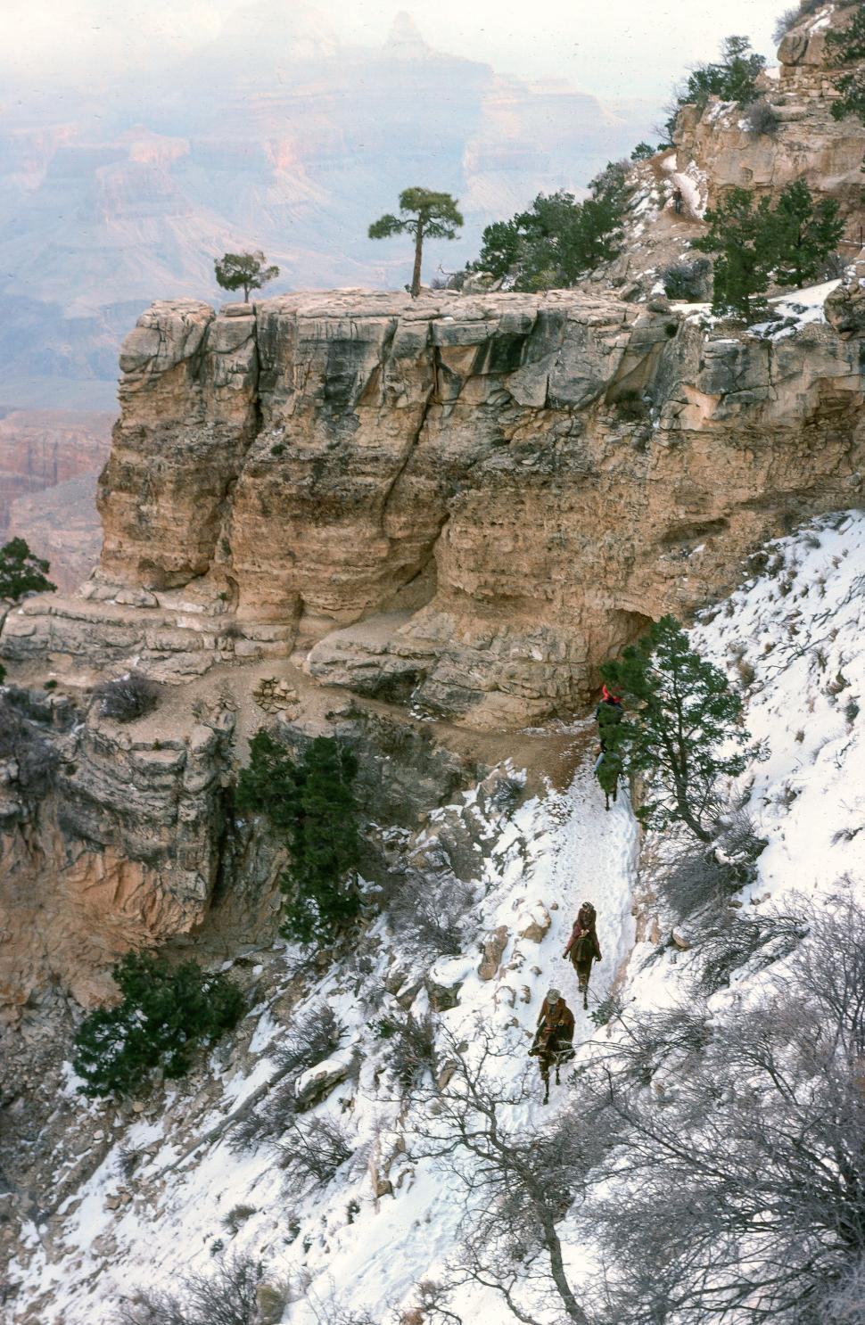 Download Free Stock HD Photo of Bright Angel Trailhead - Grand Canyon Online