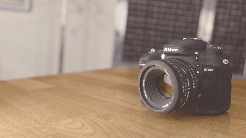 Download Free Stock HD Photo of Nikon Camera Online