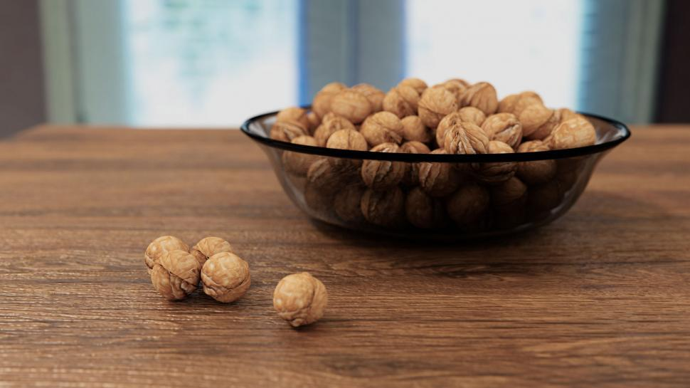 Download Free Stock HD Photo of Nuts in a Bowl Online