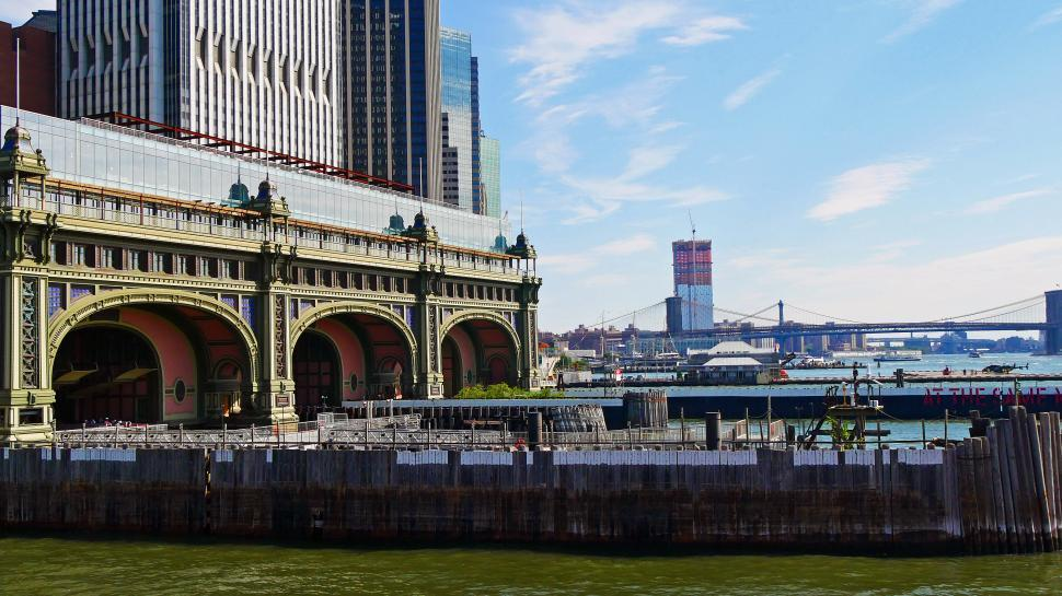Download Free Stock HD Photo of Governors Island Ferry Terminal Online
