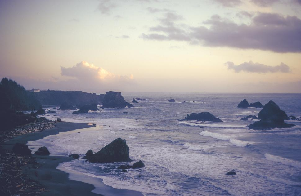 Download Free Stock HD Photo of Bandon Beach, Oregon Online